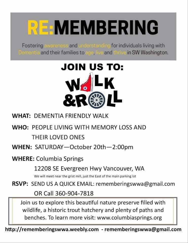 REMEMBERING-Walk and Roll October 2018